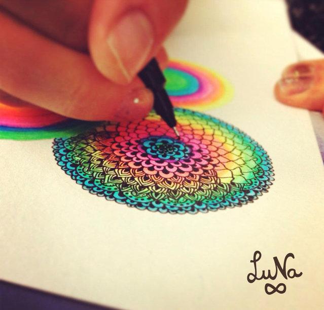 Illustration By Luna Portnoi Part 1