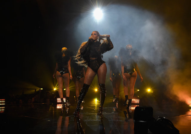 Beyoncé performs during the MTV Video Music Awards at Madison Square Garden on Sunday, August 28, 2016, in New York. (Photo by Kevin Mazur/WireImage)