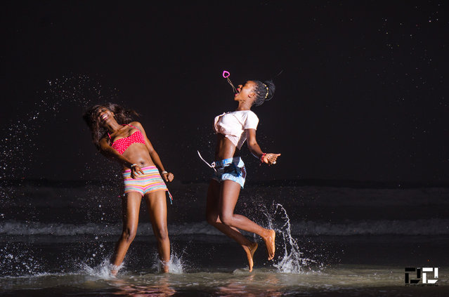 """Splashing... Sea Fun"". (Photo by DextDee Livingstone)"