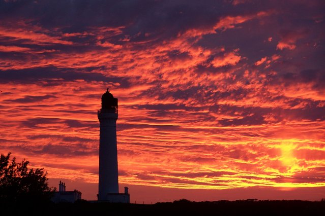 The winning snap of Cove Sea Lighthouse was taken by Colin Gray. (Photo by Colin Gray/Daily Record)