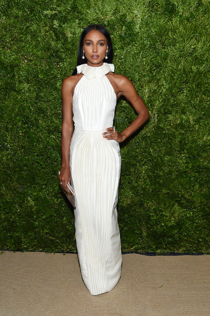 Jasmine Tookes attends the CFDA / Vogue Fashion Fund 2019 Awards at Cipriani South Street on November 04, 2019 in New York City. (Photo by Jamie McCarthy/Getty Images)