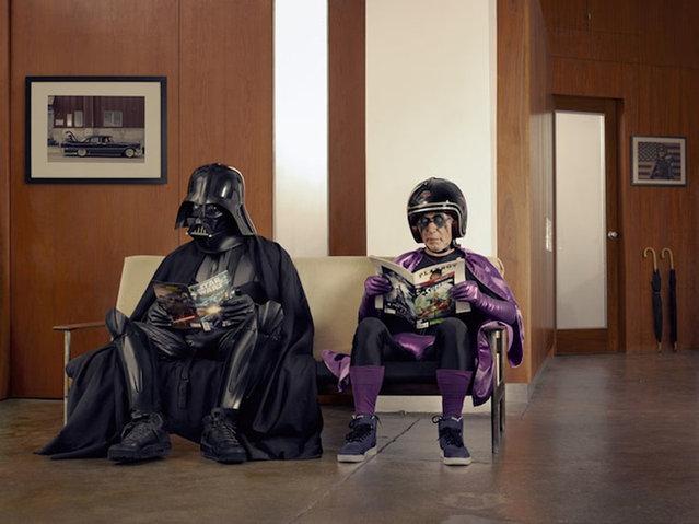 Dark Superhero Grandpa