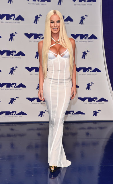 Gigi Gorgeous attends the 2017 MTV Video Music Awards at The Forum on August 27, 2017 in Inglewood, California. (Photo by Alberto E. Rodriguez/Getty Images)
