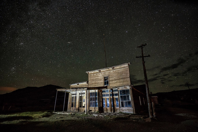 Bodie, California, a real-life ghost town. (Photo by Matthew Christopher/Caters News Agency)