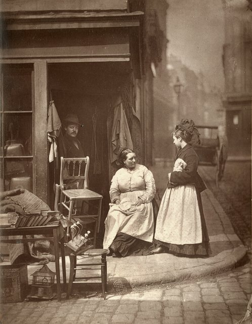 Old Furniture. (Photo by John Thomson/LSE Digital Library)