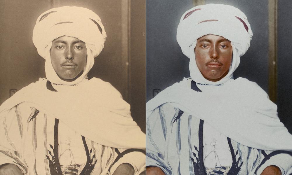 Color Portraits of Immigrants at Ellis Island