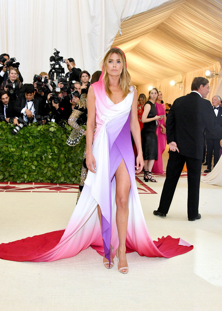Doutzen Kroes attends the Heavenly Bodies: Fashion & The Catholic Imagination Costume Institute Gala at The Metropolitan Museum of Art on May 7, 2018 in New York City. (Photo by Dia Dipasupil/WireImage)