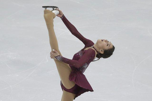 Evgenia Medvedeva of Russia performs during the ladies short program at the ISU European Figure Skating Championship in Bratislava, Slovakia, January 27, 2016. (Photo by David W. Cerny/Reuters)
