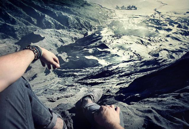 """""""At the top of the world"""". (David Olkarny)"""
