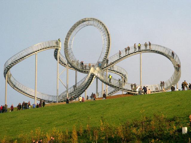 Walkable Roller-Coaster In Germany