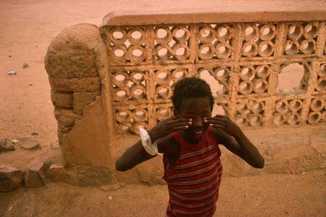 Mali. Sandstorm in Kidal in 2004. (Photo by Jean-Claude Coutausse)