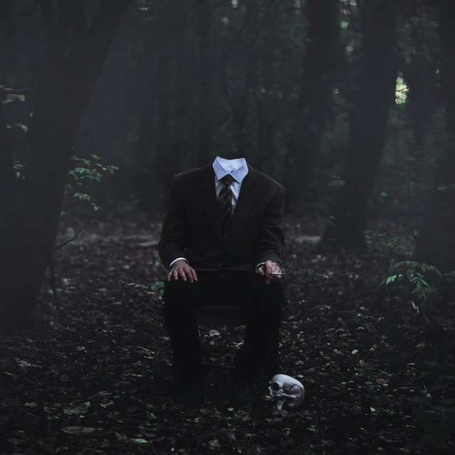 Long Ago, he Lost his Head (365 project). (Glenda Lissette)