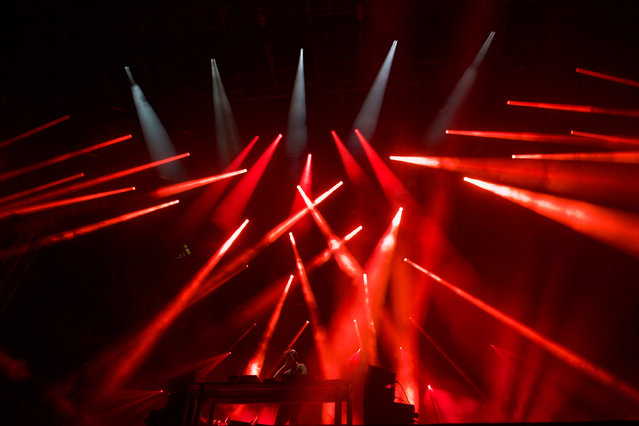 Jamie xx performs during the fifth annual Made in America Music Festival in Philadelphia, Pennsylvania September 3, 2016. (Photo by Mark Makela/Reuters)