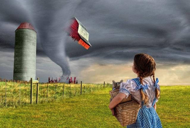 """Dorothy and the Tornado"". (Adam Baron)"