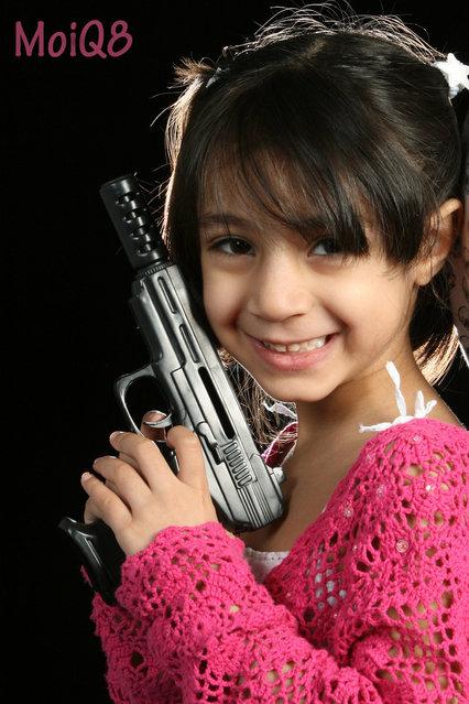 """""""Dangerous Girl"""". (Photo by Aisha Al-failichawi)"""