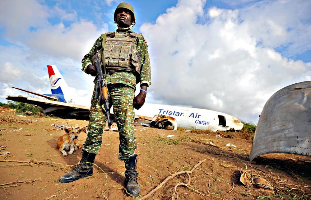 Cargo Plane Cash-landed in Somalia