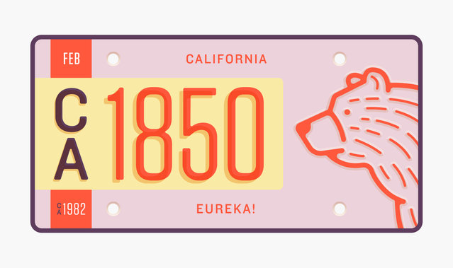 State Plates Project By Jonathan Lawrence