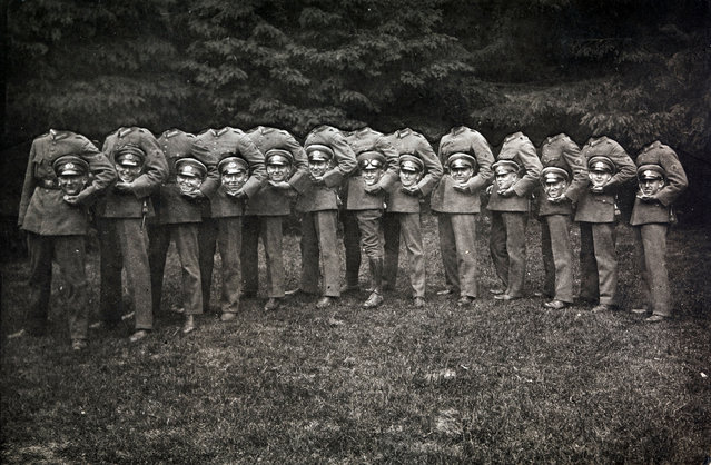 """Group of Thirteen Decapitated Soldiers"" by Unknown, ca. 1910. (Photo courtesy of The Metropolitan Museum of Art)"