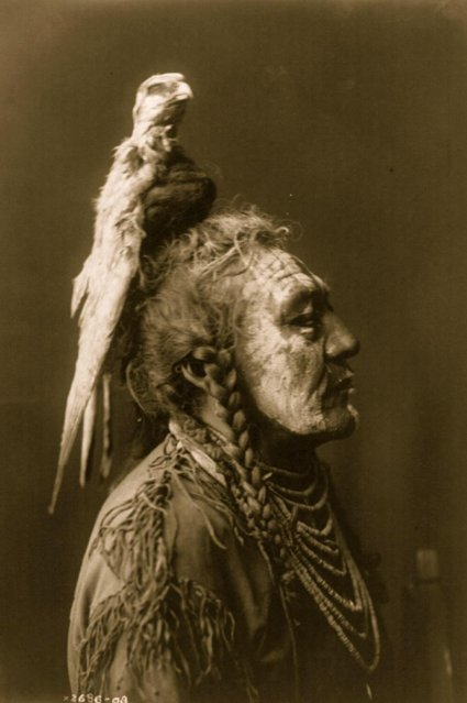 Two Whistles, Plate 111 by Edward Curtis, mid to late 1900s. (Photo by Field Museum Library/Getty Images)