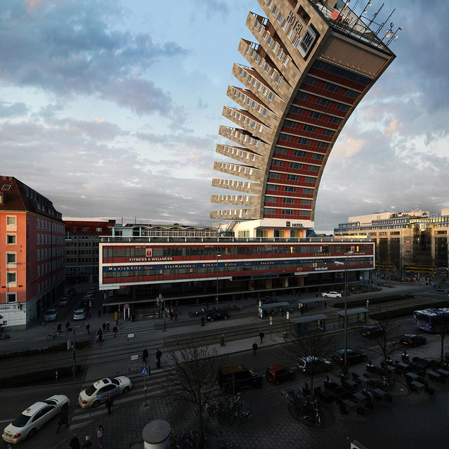 Manipulated Photography By Victor Enrich Of A Munich Hotel