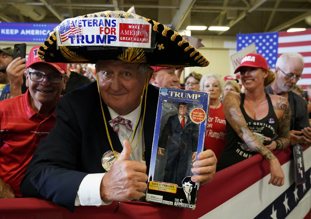 Supporters of U.S. President Donald Trump attend a campaign rally in Fayetteville, North Carolina, U.S., September 9, 2019. (Photo by Kevin Lamarque/Reuters)