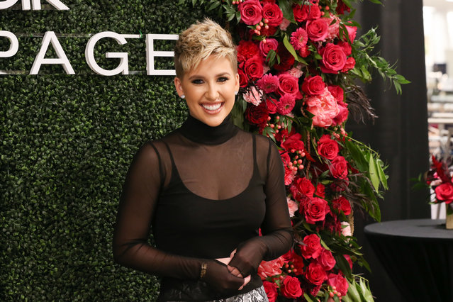 Rampage X Creative Director and TV personality Savannah Chrisley makes a personal appearance at Belk at Cool Springs Galleria Mall on November 05, 2019 in Franklin, Tennessee. (Photo by Terry Wyatt/Getty Images for Rampage )