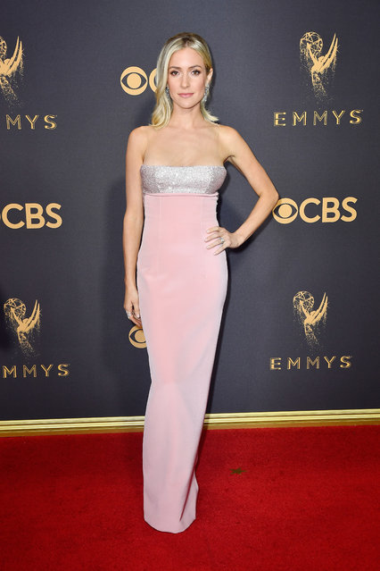 TV personality Kristin Cavallari attends the 69th Annual Primetime Emmy Awards at Microsoft Theater on September 17, 2017 in Los Angeles, California. (Photo by Frazer Harrison/Getty Images)