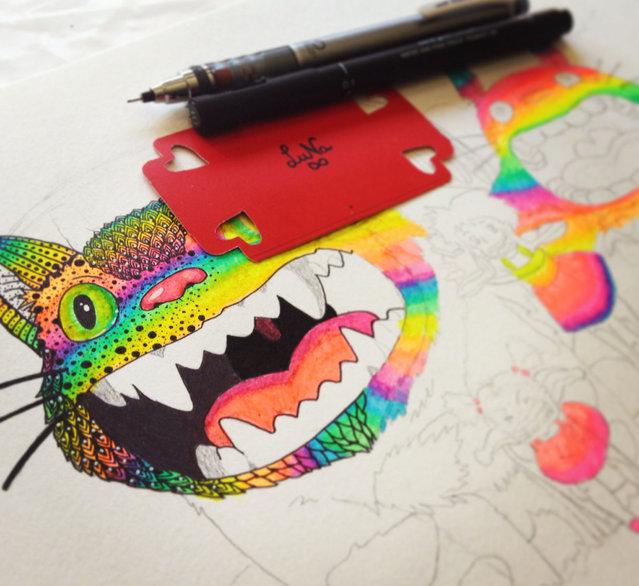 Illustration By Luna Portnoi Part 3