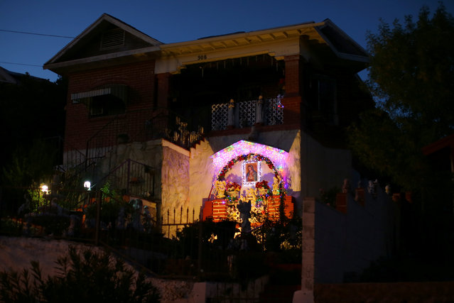 A residential home is seen in Nogales, Arizona, United States, October 9, 2016. (Photo by Mike Blake/Reuters)
