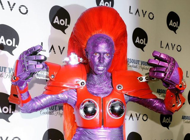Heidi Klum attends Heidi Klum's 2010 Halloween Party at Lavo on October 31, 2010 in New York City. (Photo by Bryan Bedder/Getty Images)
