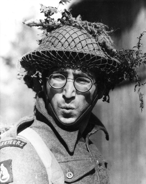 "Beatle John Lennon appears as Private Gripweed in his first dramatic role in the 1967 movie ""How I Won the War"", filmed on location in Spain. (Photo by AP Photo)"