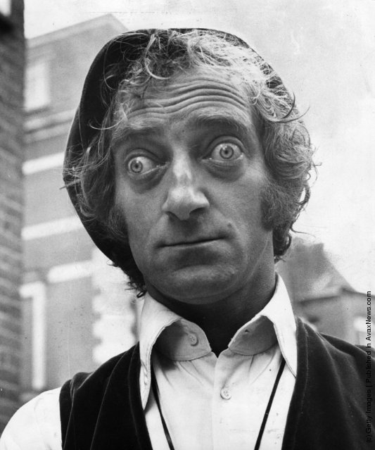1970: TV and Film Comedian Marty Feldman (1933 - 1983) with characteristic pop-eyed look