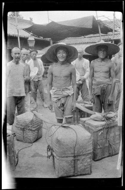 Grub Boxes. China, Chengdu, 1917-1919. (Photo by Sidney David Gamble)