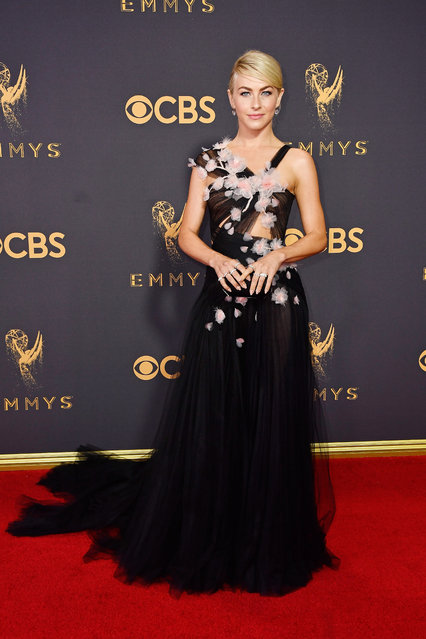 TV personality Julianne Hough attends the 69th Annual Primetime Emmy Awards at Microsoft Theater on September 17, 2017 in Los Angeles, California. (Photo by Frazer Harrison/Getty Images)