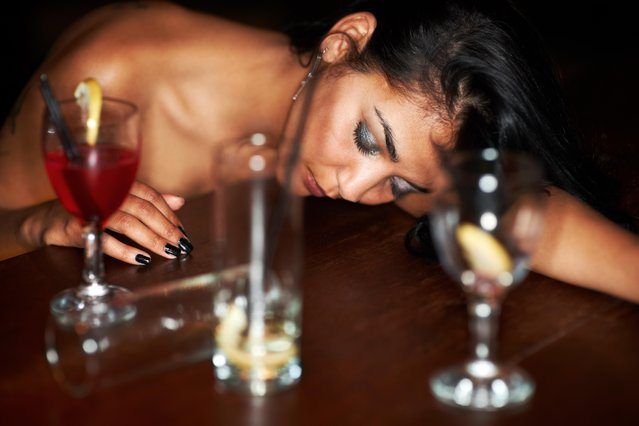Her night is at it's end. (Photo by PeopleImages/Getty Images)