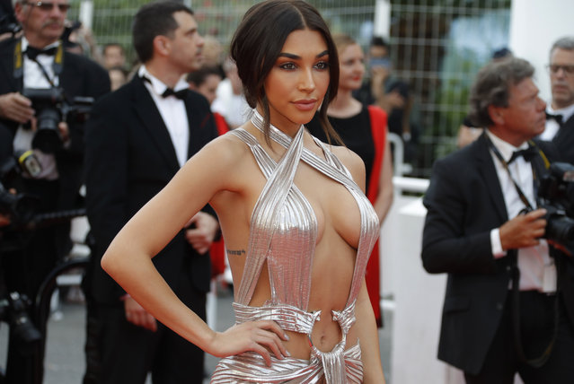 "Chantel Jeffries arrives for the opening ceremony and screening of the film ""Everybody Knows"" on May 8, 2018 during the 71st annual Cannes Film Festival in Cannes, France. (Photo by Eric Gaillard/Reuters)"
