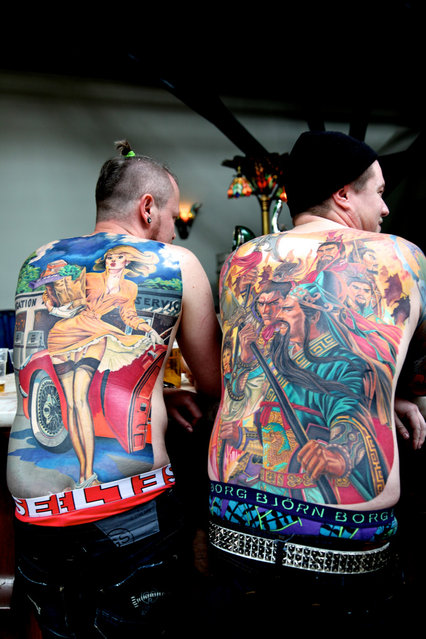 London Tattoo Convention. (Photo and caption by Siberfi)