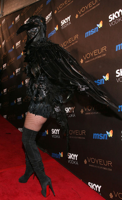 Heidi Klum arrives at the Heidi Klum's 10th Annual Halloween Party on October 31, 2009 in Los Angeles, California. (Photo by Valerie Macon/Getty Images)