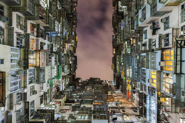 """""""Living in a Box"""". Living in a Box is living in Hong Kong. Photo location: Hong Kong. (Photo and caption by Norbert Well/National Geographic Photo Contest)"""