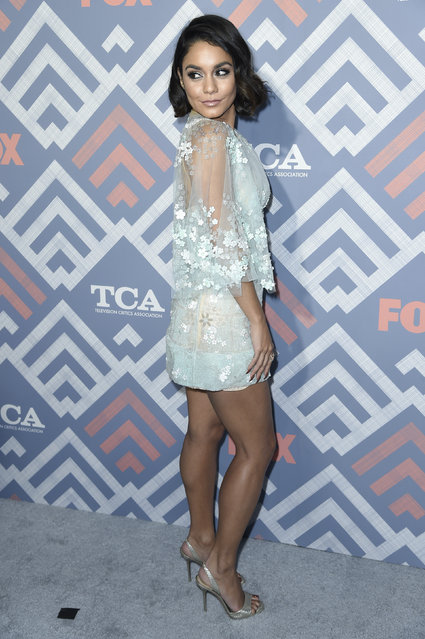 Vanessa Hudgens attends the FOX TCA after party at Soho House on Tuesday, August 8, 2017, in West Hollywood, Calif. (Photo by Richard Shotwell/Invision/AP Photo)