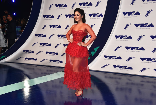 Vanessa Hudgens attends the 2017 MTV Video Music Awards at The Forum on August 27, 2017 in Inglewood, California. (Photo by Alberto E. Rodriguez/Getty Images)