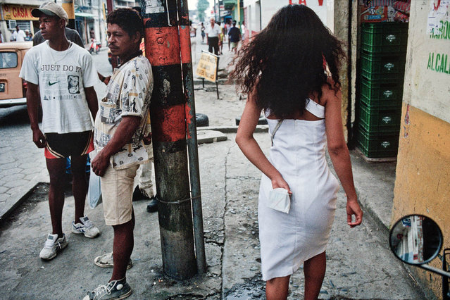 Colombia. Street in Tumaco in July 1998. (Photo by Jean-Claude Coutausse)