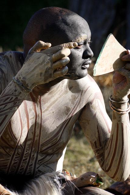 Tribe Kikuyu With Kenya