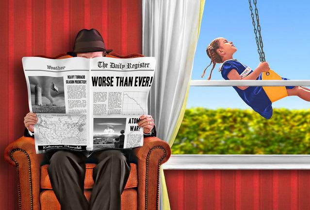 """""""No News is Good News"""". (Adam Baron)"""