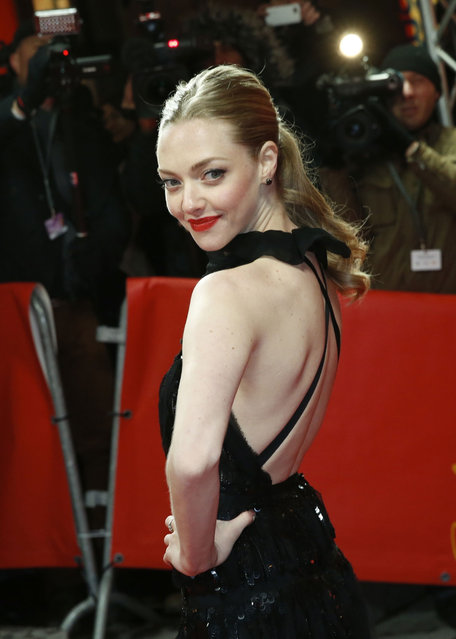 """Actress Amanda Seyfried attends the """"Les Miserables"""" Premiere during the 63rd Berlinale International Film Festival at Friedrichstadt-Palast on February 9, 2013 in Berlin, Germany. (Photo by Pascal Le Segretain)"""