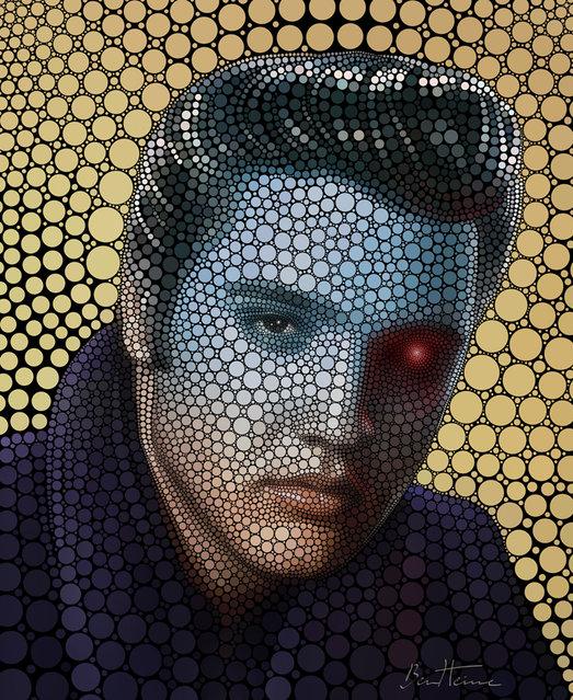 Digital Circlism: Portraits Of Celebrities By Ben Heine