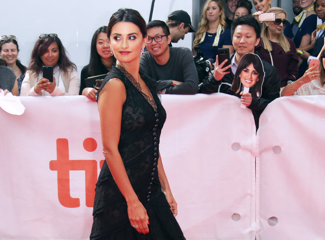 Actor Penélope Cruz arrives for the North American premiere of Everybody Knows at the Toronto International Film Festival (TIFF) in Toronto, Canada on September 8, 2018. (Photo by Chris Helgren/Reuters)
