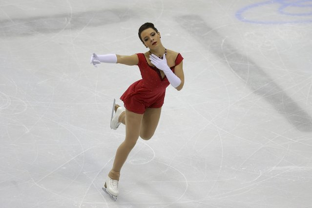 Roberta Rodeghiero of Italy performs during the ladies short program at the ISU European Figure Skating Championship in Bratislava, Slovakia, January 27, 2016. (Photo by David W. Cerny/Reuters)