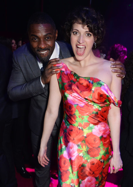 Idris Elba and Phoebe Waller-Bridge attend The 64th Evening Standard Theatre Awards after party at the Theatre Royal, Drury Lane, on November 18, 2018 in London, England. (Photo by David M. Benett/Dave Benett/Getty Images)