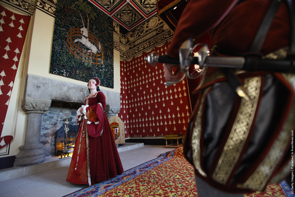 Stirling Castle's Renaissance Palace Prepares For Reopening